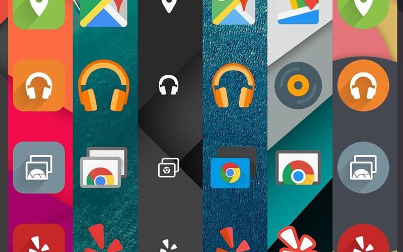 как поменять иконки на рабочем столе андроид телефона