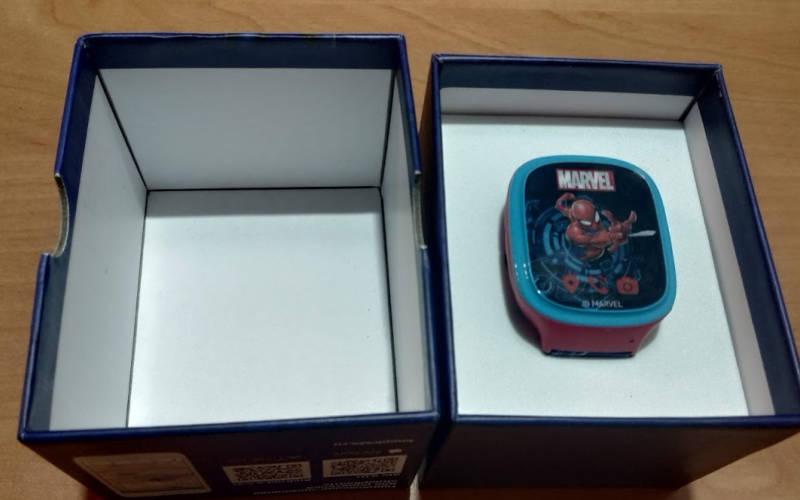 умные часы с GPS Aimoto Кнопка Жизни Человек-Паук 2