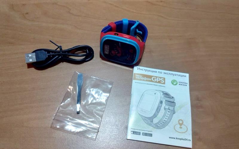 умные часы с GPS Aimoto Кнопка Жизни Человек-Паук 3
