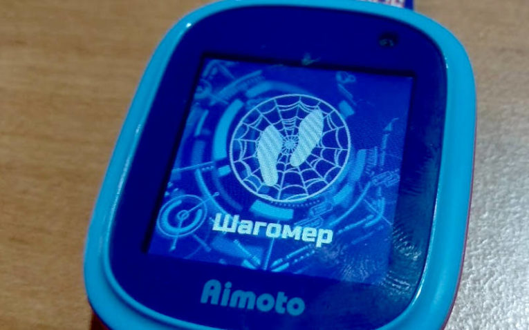 умные часы с GPS Aimoto Кнопка Жизни Человек-Паук приложение определение местоположения