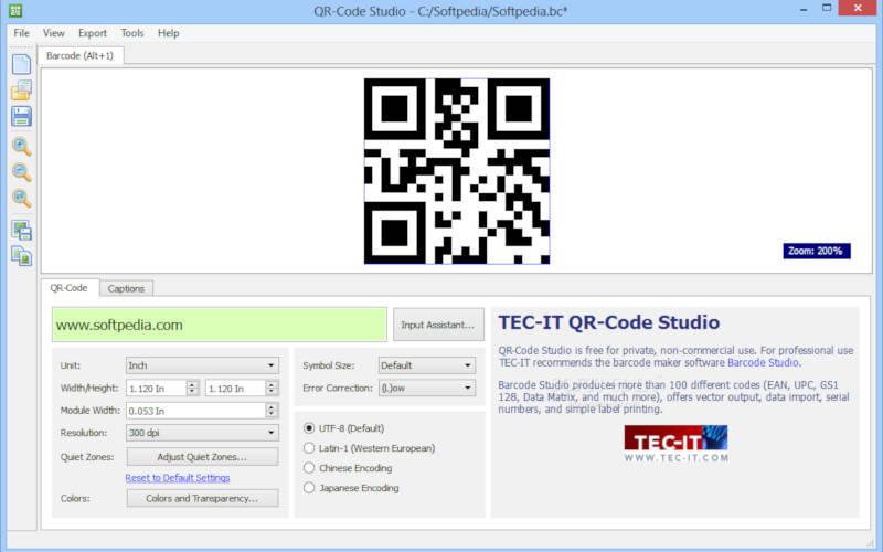 Как создать QR-код c помощью QR Code Studio