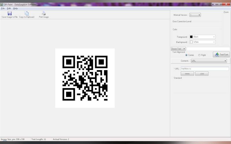 Как создать QR-код c помощью QR-Paint