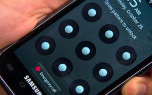 как восстановить графический ключ на Android