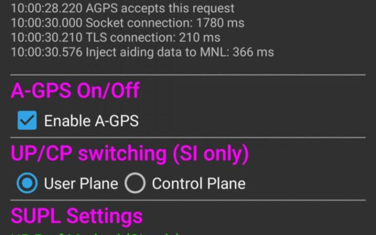 включить GPS на андроид