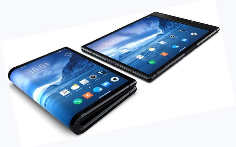 гибкий смартфон rayolle