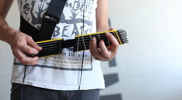 Jammy-Portable-Digital-useless-Guitar