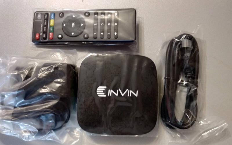 Обзор Android ТВ-приставки Invin IPC-002 - комплектация