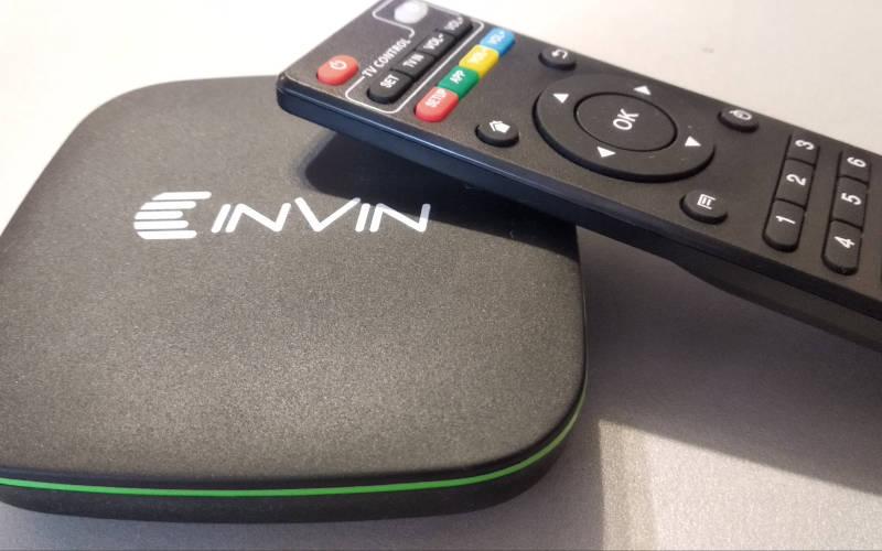 Обзор Android ТВ-приставки Invin IPC-002 - приставка
