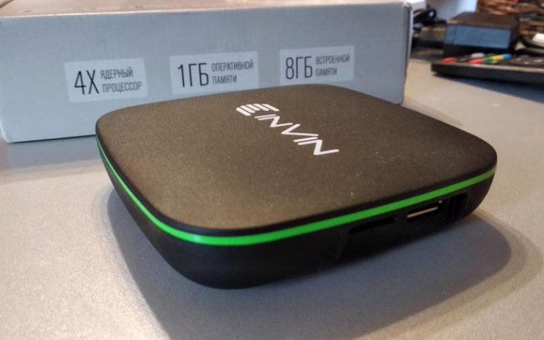 Обзор Android ТВ-приставки Invin IPC-002 - с коробкой