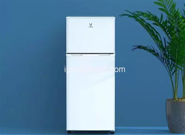 Yunmi-118L-Double-Door-Refrigerator