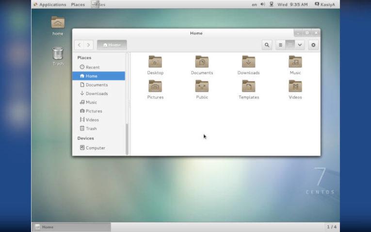 операционная система CentOS 7 на базе Linux