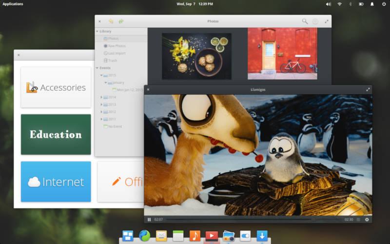 операционная система Elementary OS на базе Linux