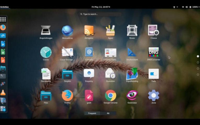 операционная система Fedora на базе Linux