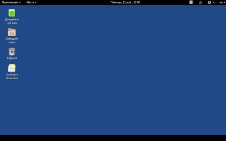 операционная система Tails на базе Linux
