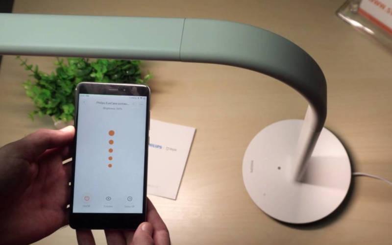 умные лампы Xiaomi Philips Eyecare Smart Lamp 2 WiFi