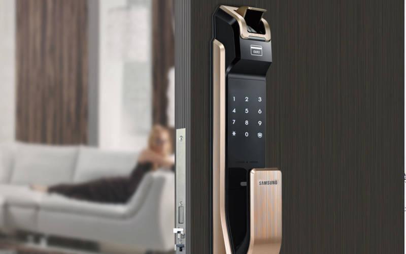 умный электронный замок Samsung SHS-P718