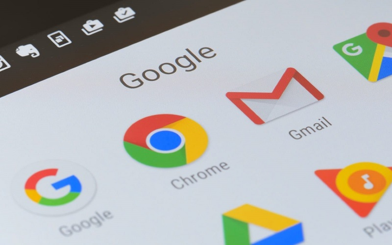 Google-Android-Chrome-YouTube-Gmail