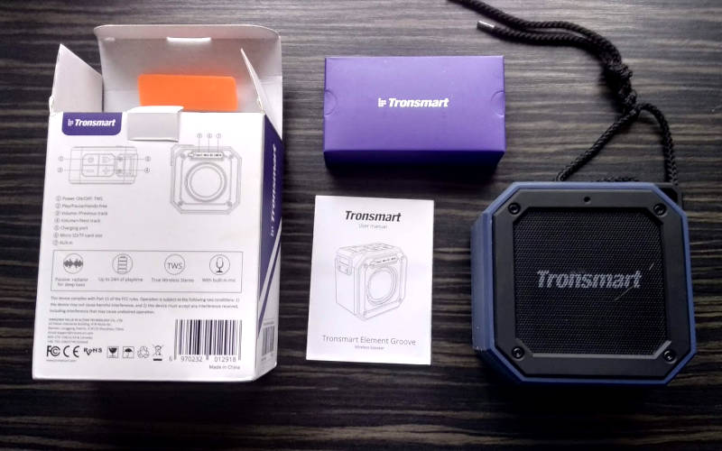 Tronsmart Element Groove комплектация
