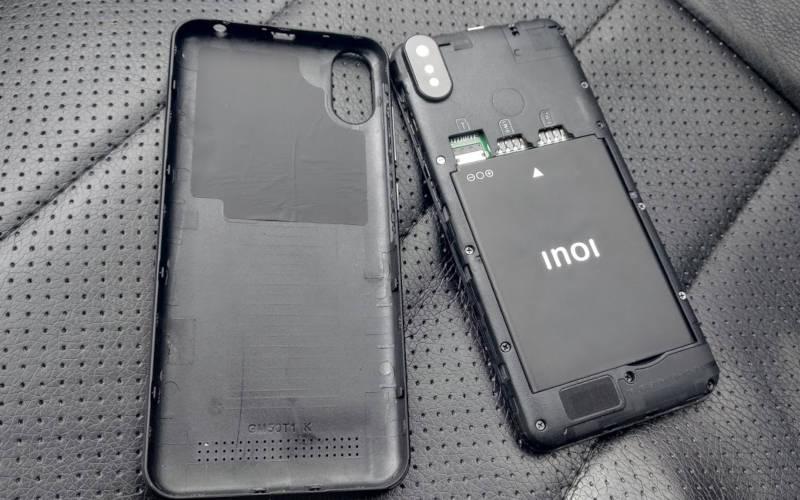 inoi 3 со снятой задней крышкой