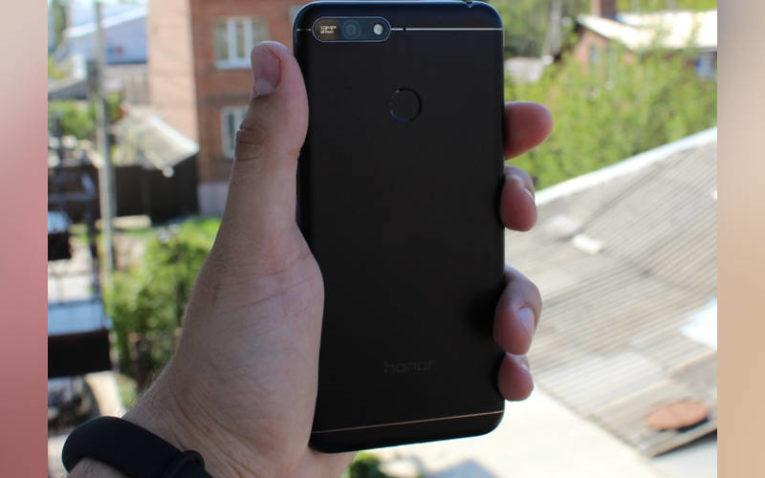 недорогой, но хороший смартфон Honor 7A Pro