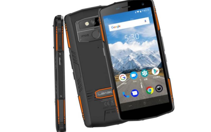 телефон с хорошей батареей Leagoo XRover C