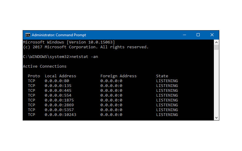 Как открыть порты на Windows 10