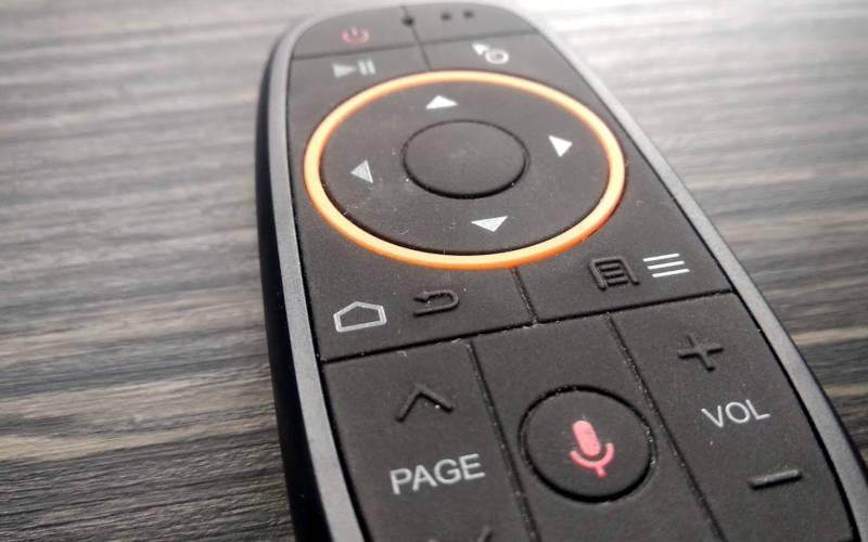 аэромышь LEORY Air Mouse - кнопки