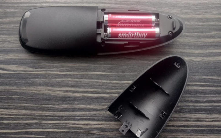аэромышь LEORY Air Mouse отсек для батареек