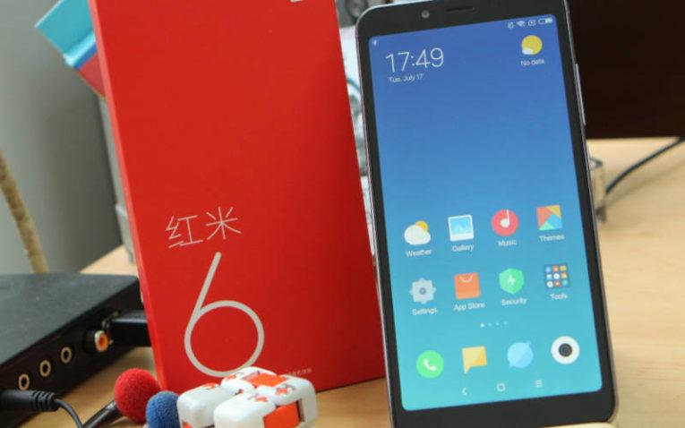 смартфоны до 15000 рублей - Xiaomi Redmi 6