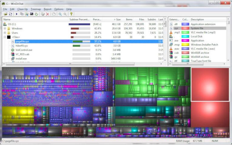 Как освободить место на диске Windows
