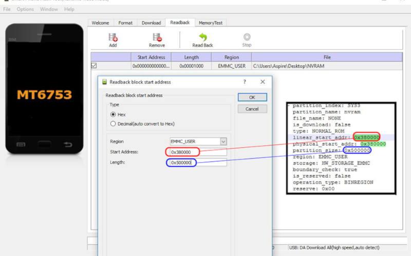 как восстановить IMEI с помощью SP Flash Tool
