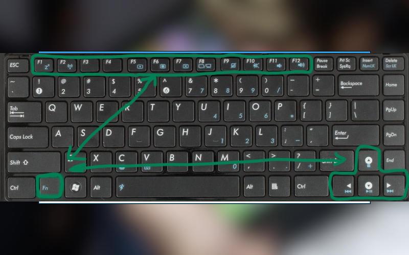 как увеличить яркость на ноутбуке или компьютере