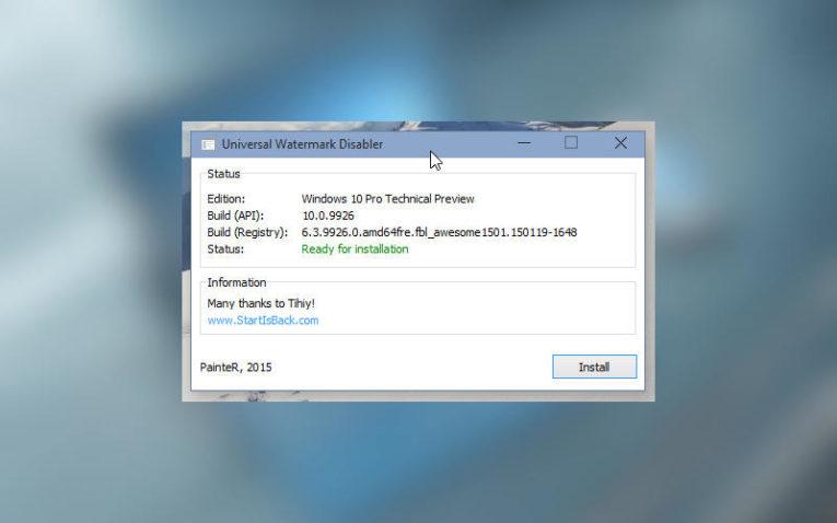 как отключить тестовый режим в Windows