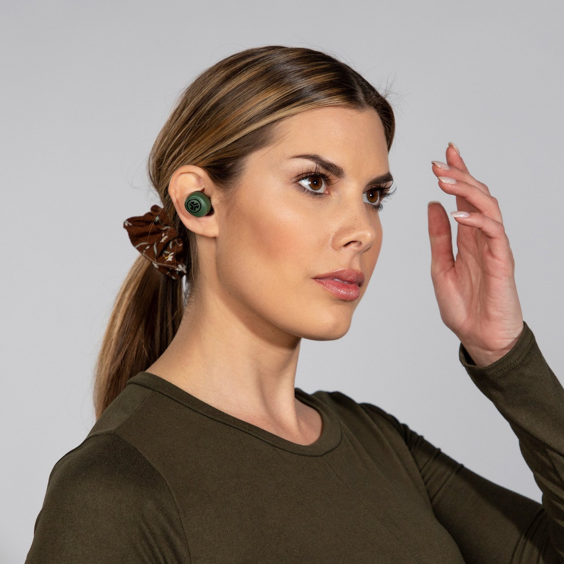 JLab-Go-Air-true-wireless-earbuds-green-model