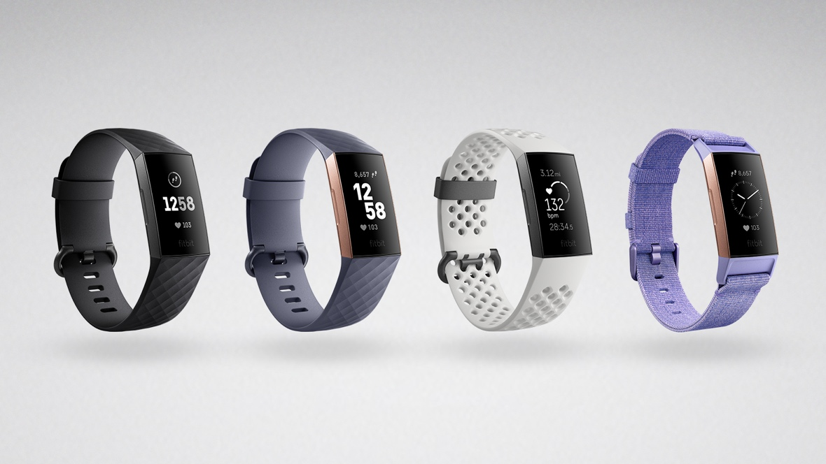 Product family render of Fitbit Charge 3 - no logo
